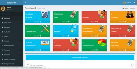 اسکریپت مدیریت پیشرفته وام و پس انداز Advance Loan Management