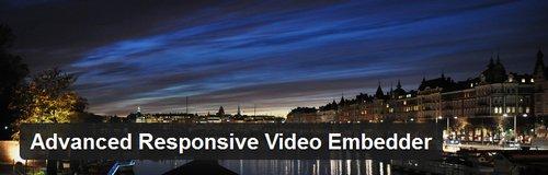افزونه درج ویدیو در وردپرس Advanced Responsive Video Embedder