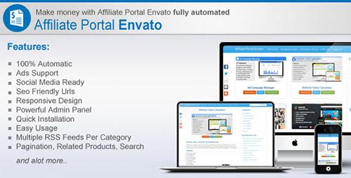 affiliate portal اسکریپت کسب درآمد Affiliate Portal