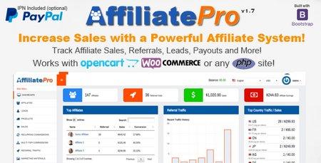 اسکریپت خرید و فروش آنلاین Affiliate Pro نسخه 1.7