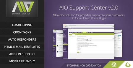 افزونه پشتیبانی تیکتینگ AIO Support Center نسخه 2.21