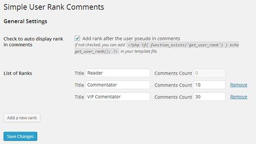 افزودن سیستم رتبه بندی کاربران به دیدگاه های وردپرس