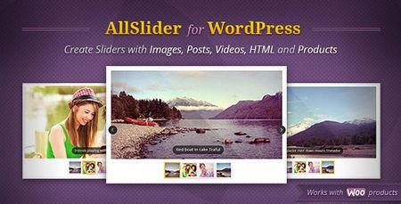 اسلایدر حرفه ای AllSlider برای وردپرس