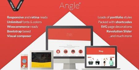 پوسته وردپرس و چندمنظوره Angle نسخه ۱٫۱۱٫۱