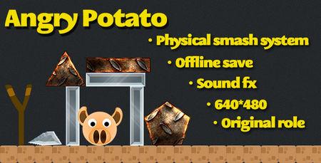 اسکریپت بازی آنلاین سیب زمینی عصبانی