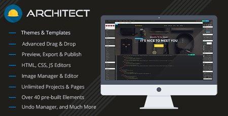 طراحی قالب HTML به صورت آنلاین با اسکریپت Architect نسخه ۱.۱.۱