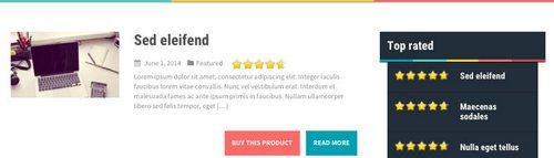 قالب نقد و بررسی آنلاین aReview قالب وردپرس