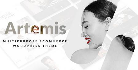 دانلود قالب فروشگاهی و چندمنظوره Artemis برای وردپرس