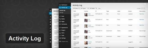 افزونه وقایع نگاری Activity Log برای وردپرس