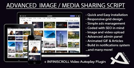 اسکریپت اشتراک گذاری چند رسانه ای Avidi Media