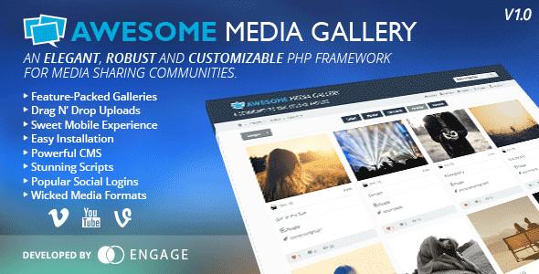 ایجاد سایت گالری عکس و فیلم با Awesome Media Gallery