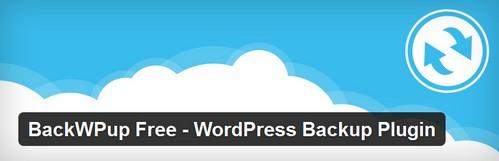 افزونه بکاپ گیری آسان از وردپرس BackWPup Free