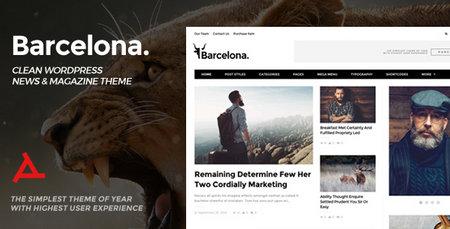 دانلود قالب بارسلونا برای وردپرس