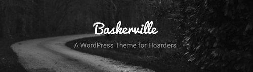 قالب وبلاگی Baskerville برای وردپرس
