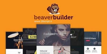 افزونه فارسی صفحه ساز وردپرس Beaver Builder Pro نسخه 2.0.2.2