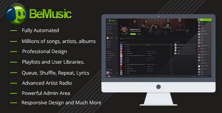 اسکریپت راه اندازی سایت موزیک BeMusic
