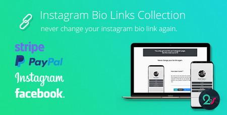 قابلیت درج چندین لینک در بیو اینستاگرام با اسکریپت BioLinks