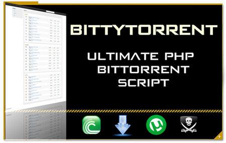 اسکریپت راه اندازی وب سایت تورنت Bittytorrent
