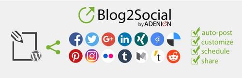 ارسال خودکار مطالب وردپرس به شبکههای اجتماعی با Blog2Social