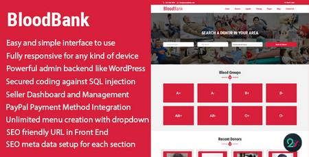 اسکریپت دایرکتوری اهدا کننده خون BloodBank