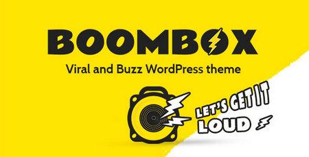 دانلود قالب مجله خبری بووم باکس BoomBox برای وردپرس