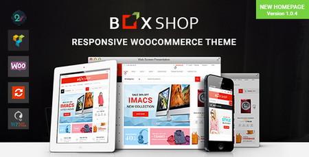 دانلود قالب فروشگاهی BoxShop برای وردپرس
