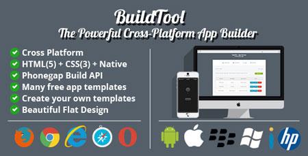 ایجاد اپلیکیشن های موبایل با اسکریپت BuildTool