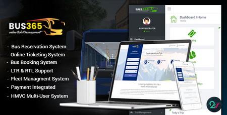 اسکریپت سیستم رزرو آنلاین اتوبوس Bus365