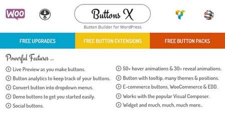 افزونه وردپرس ساخت دکمه Buttons X نسخه 1.9.62