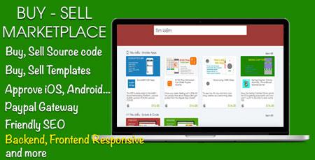 اسکریپت راه اندازی فروشگاه بازارچه فایل Buy, Sell Marketplace