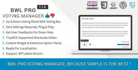 افزودن قابلیت لایک و دیس لایک به وردپرس با افزونه BWL Pro Voting Manager