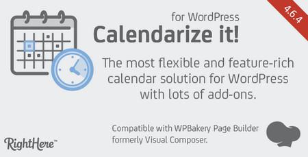 افزونه طراحی تقویم پیشرفته در وردپرس Calendarize it