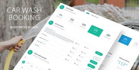 افزونه وردپرس رزرو کارواش Car Wash Booking نسخه 1.2