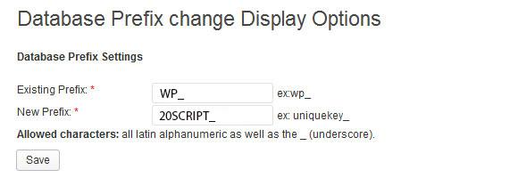 پیشوند پیش فرض جداول دیتابیس وردپرس را تغییر دهید
