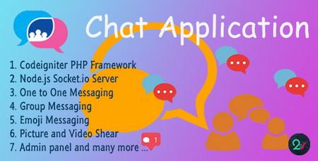 اسکریپت راه اندازی سیستم چت گروهی Chat Application