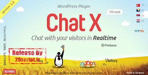 افزونه پشتیبانی چت پیشرفته وردپرس Chat X v1.1.4
