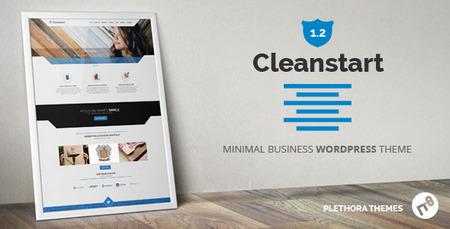 قالب شرکتی و چندکاربره وردپرس CleanStart