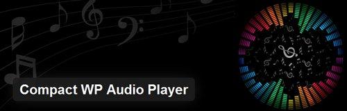 افزونه پخش کننده فایل صوتی در سایت Compact WP Audio Player