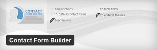 دانلود افزونه ساخت فرم تماس در وردپرس Contact Form Builder