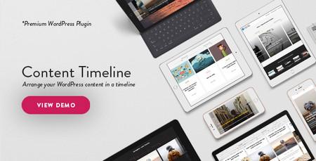 افزونه زمانبندی نمایش محتوای وردپرس Content Timeline