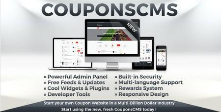 اسکریپت اشتراک گذاری کوپن تخفیف Coupons CMS نسخه 6.10