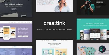 دانلود قالب چندمنظوره Creatink برای وردپرس