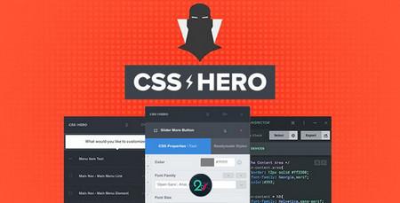 افزونه سفارشی سازی زنده قالب وردپرس CSS Hero Pro