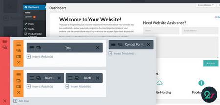 شخصی سازی صفحه خوش آمدگویی وردپرس با افزونه Divi Dashboard Welcome