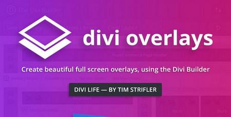 افزونه ایجاد فرم و صفحات سفارشی در وردپرس Divi Overlays