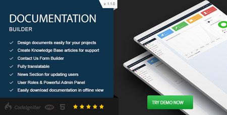 اسکریپت ساخت مستندات و داکیومنت Documentation Builder