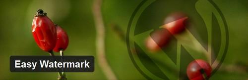 افزونه وردپرس واترمارک تصاویر Easy Watermark