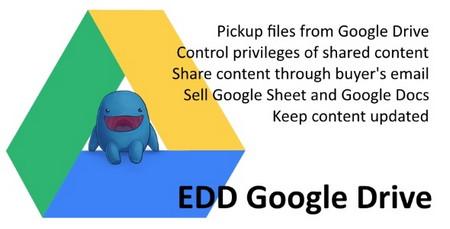 اتصال ایزی دیجیتال دانلودز به گوگل درایو با افزونه EDD Google Drive