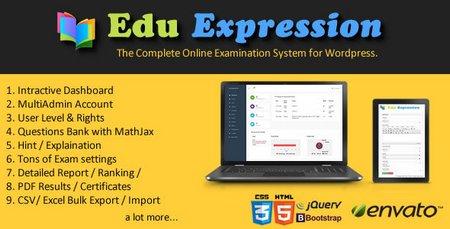 اسکریپت طرح آزمون آنلاین Edu Expression