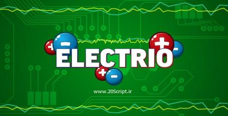 اسکریپت بازی آنلاین اتصال الکترون ها Electrio
